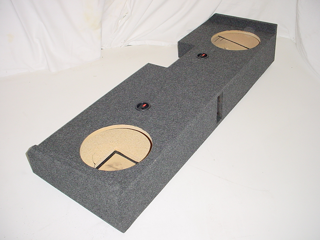 2014 chevy crew cab ported carpeted subwoofer box sub box for L ported sub box design