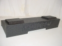 2008 and up Chevy/Gmc Crew Cab New Body Subwoofer Box 2X12