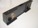 2008-2013 Chevy Crew cab Ported poly Subwoofer Box 2X12