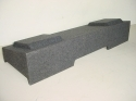 2008 Up Chevy-Gmc Crew Cab Dual 10'' or 12'' Ported Sub Box