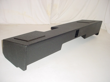 2014 and Up Chevy Double Cab Ported Subwoofer Box Sub Box 2X10