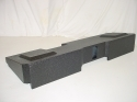 2014 up Chevy Standard Crew Cab Ported Poly Subwoofer Box Sub Bo