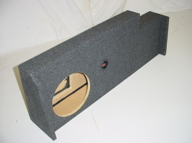 2014 Chevy Crew Cab Single Sub Box Subwoofer Box 1X10