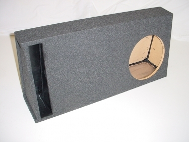 Single Slot Ported Truck Box 1.81 Cu. Ft, 37 Hz Sub Box