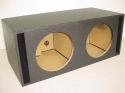Dual 12'' Side Slot Ported Jumbo Pro- Poly Sub Box