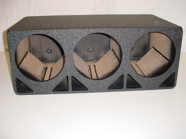 3x12'' double Ported  Pro Poly Sub Box