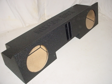 88-98 Gm Ext. Cab 2-12'' Ported Poly Subwoofer Box