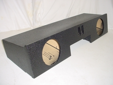 99-2006 Chevy Ext. Cab 2-10'' Ported Poly Subwoofer Box sub box