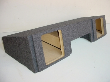 99-2006 Chevy Ext. Cab 2-10'' Solobaric L7 Front Firing Sub Box