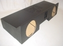 99-2006 Chevy Extended Cab 2-12'' Ported Poly subwoofer box