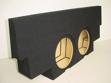 2001-2007 Chevy Crew Cab Non HD Carpeted Jumbo Sub Box