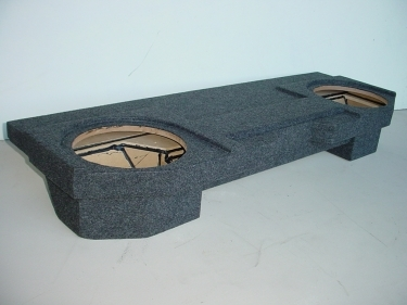 2002-2008 Doge Ram Quad Cab Bench seats Jumbo carpeted Sub Box
