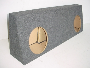 2006-2008 Dodge Mega Cab Dual 10''or 12'' Sub Box