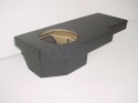 2002-2008 Dodge Quad Cab Poly single Sub Box 1X10
