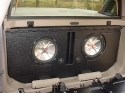 2002-2011 Chevy Avalanche or Cadillac EXT Poly Slot Port Sub Box