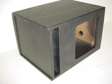 Single 12'' L7 Kicker Slot Ported Poly Sub Box