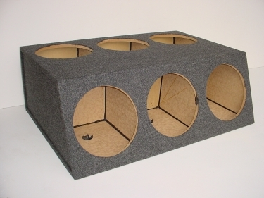 6-12'' Sealed Sub Box