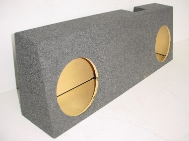 2004-2007 Ford F-150 Ext. Cab Single 10'' Poly Down Fire Sub Box