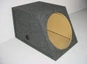 Slanted Single Sealed 15'' Sub Box