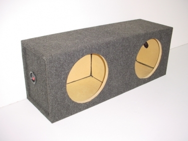 10'' Dual Square Sealed Sub Box