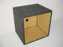 Single 10'' Kicker L7 Square  Sub Box