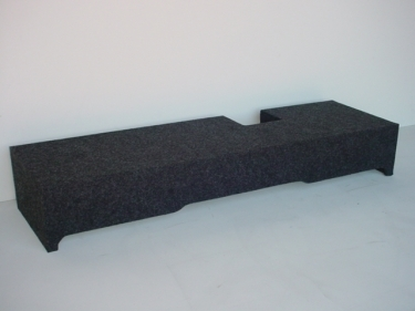 2000-2003 Ford F-150 Extended Cab 2-12'' Downfire Sub Box