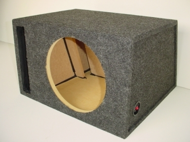 Single 12'' Transmission Line Slot Ported Sub Box
