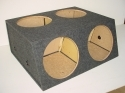 4-15'' Sealed Sub Box
