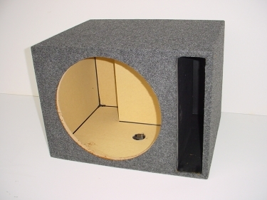 Single 15'' Slot Ported Sub Box