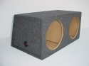 "Slanted Back Sealed 10"", 12"" or 15"" Sub Box"