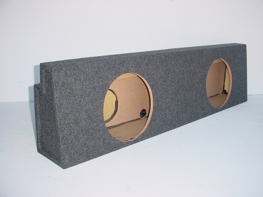 2001-2007 Chevy Crew Cab Non HD Rear Seat Sub Box