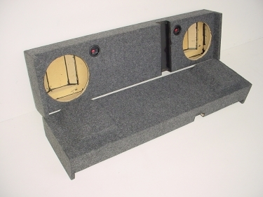 02-2016 Avalanche / Cadillac EXT 2-10'' Down Fire Sub Box