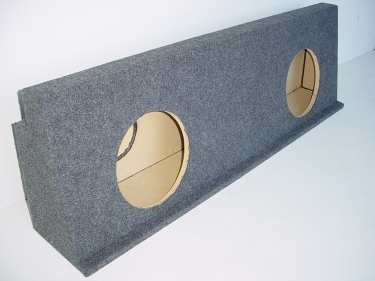 2001-2007 Chevy Crew Cab HD Behind the Seat Sub Box