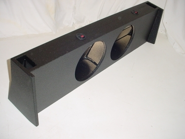 09-16 Ford F150 Super Crew Cab Ported Pro-Poly Sub Box 2X12