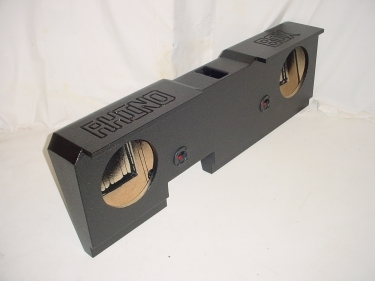 2014 up Chevy Standard Crew Cab Ported Subwoofer Sub Box 2x12