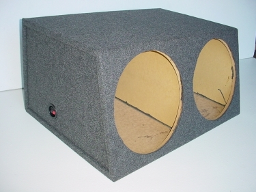 Dual 15'' Sealed Jumbo Sub Box