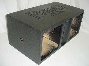 Horn Ported  Solobaric 15'' Subwoofer Box Sub Box
