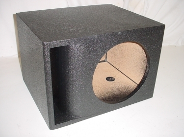 Single 10'' Horn Ported Pro-Poly Subwoofer box Sub Box