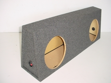 2011 and up Toyota Tundra Crew Max Sub Box 2X12