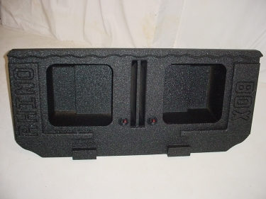 02-2016 Avalanche/Cadillac Ext.Square  Poly Subwoofer Box 2X15