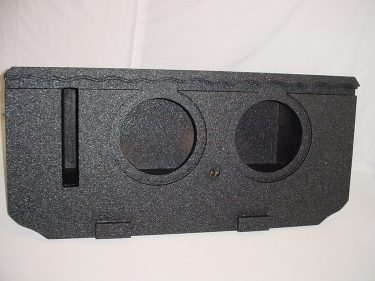 2002-2016 Chevy Avalanche/Cadillac Ext. Pro-Poly Subwoofer Box