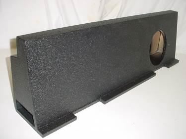 01-07 Chevy Crew Cab Heavy Duty Ported Poly Subwoofer Box 1X10