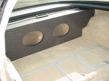 1967-1980 Chevrolet  Corvette Stingray Subwoofer Box