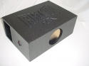 Horn Ported super bass single 8''sub woofer box sub box