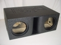 Horn Ported 2-10'' or 12'' Super Bass Pro-Poly Subwoofer Box Sub