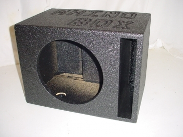 Single 12'' Ported Poly Subwoofer Box Sub Box