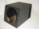 Single 15'' Horn Ported Pro-Poly Subwoofer box Sub box