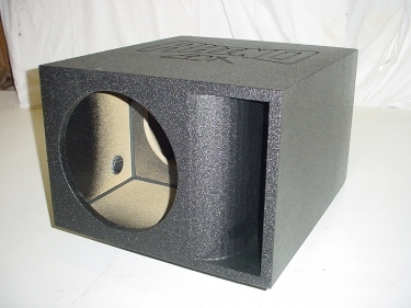 Horn Ported Single 12'' Super Bass Pro-Poly Sb Box