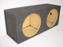 12'' Dual Square Sealed Sub Box