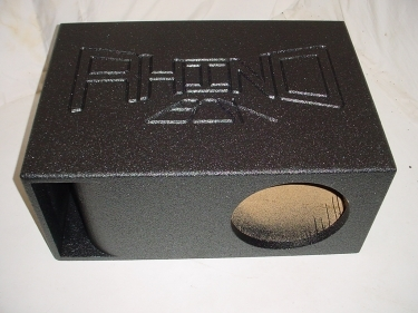 12'' Horn Ported Transmission Line  Super Bass Sub Box